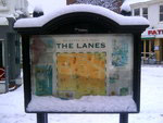The Lanes tabula zasnezena