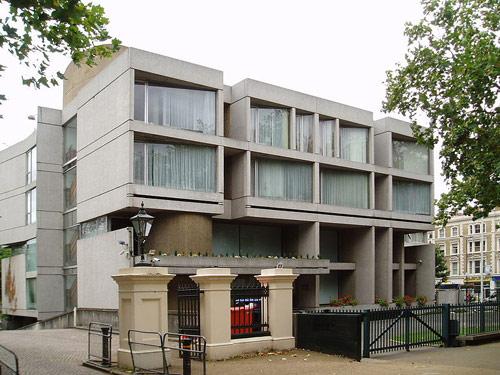 budova ambasady