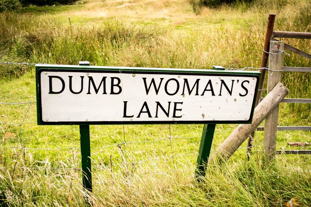 dumb womans lane