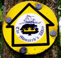 monarchs way znacka