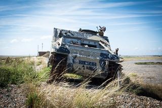 obojživelné obrnené vozidlo (Beach armoured recovery vehicle)
