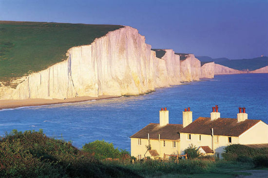 Seven Sisters at Sunset