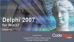 Delphi 2007 Startup Screen