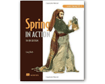 Spring 3 in Action Book Cover